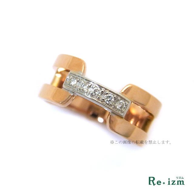 VENDOMEK18PGダイヤリング