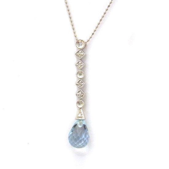 K18ダイヤモンド ネックレス