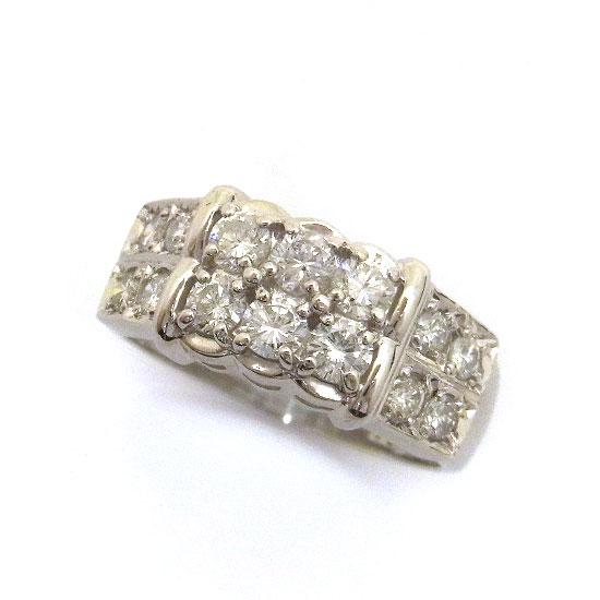 Pt900ダイヤモンド リング