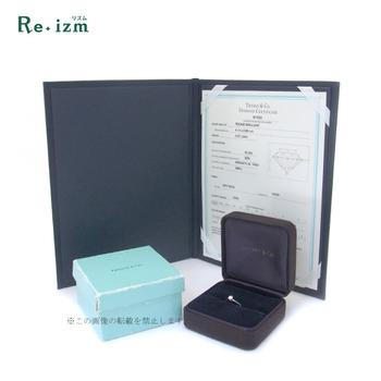 ティファニー(TIFFANY&Co.) Pt950 ダイヤモンド指輪