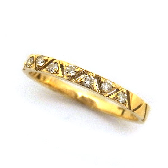 ヴァンドーム青山 K18ダイヤモンド リング