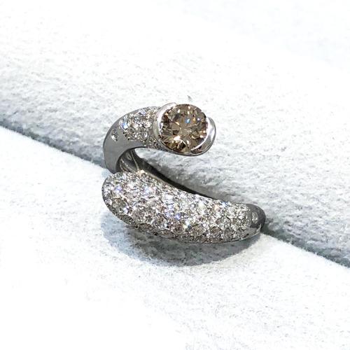 Pt900 ダイヤモンドリング