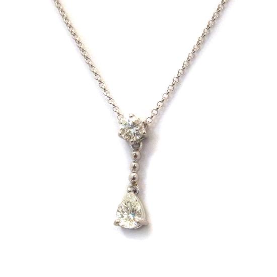 Pt900ダイヤ ネックレス