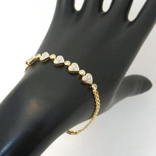 K18ダイヤ ブレスレット