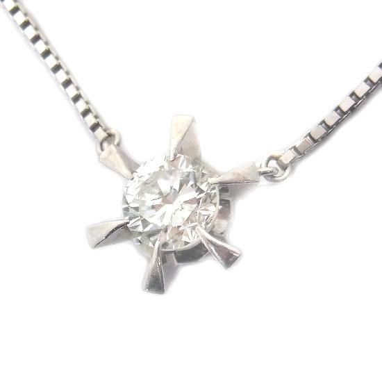 Pt850ダイヤモンド ネックレス